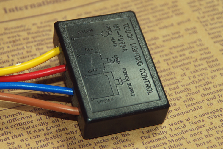 Us 12 46 220v Lamp Touch Switch On Off Sensor Table Lightning Protection And Interference Dimmer 1pc In Switches From