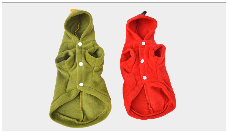 Cute Dog Costume Pet Clothes Cat Clothes Dog Coat Puppy Dog Clothes For Winnter Pet Warm Jacket Jumpsuit with 5 sizes