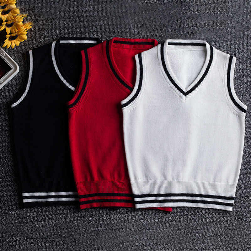 Mezyticky秋冬ファッションキッズ女の子プルオーバー子供ノースリーブセーター男の赤ちゃんかぎ針綿ウールニットコートベスト