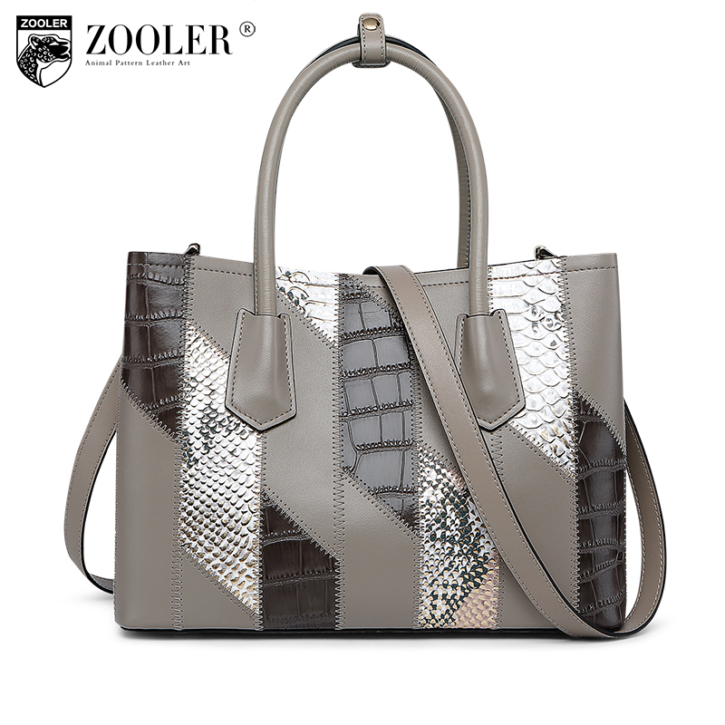 2018 High quality bags handbags type women famous brands genuine leather bag ZOOLER classic Bags ZOOLER woman tote bags#y101 zooler women 100