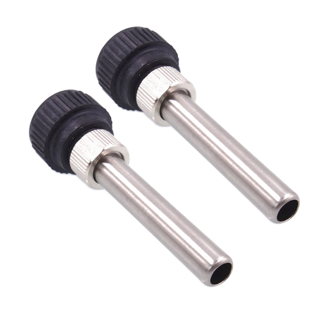 2pcs Soldering Station Iron Handle Accessories For 852D 936 937D 898D 907/ESD Iron Head Cannula Iron Tip Bushing