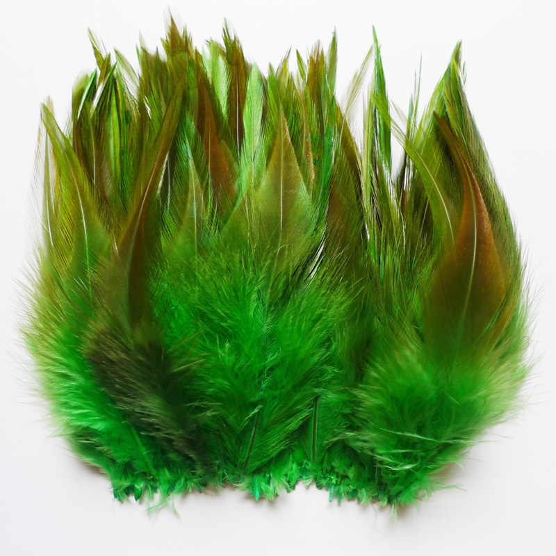 새로운! 13 종류 20 pcs 녹색 꿩 꼬리 치킨 깃털 거위 수탉 plumas 파티 diy 공예 장식 타조 깃털