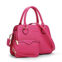 Elegant Functional Composite Bag Women Simple font b Handbag b font Cute Wrist Bag Hard PU