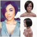 New Haircuts Full Lace Short Human Hair Wigs For Black Women Brazilian short human hair lace wigs None Lace Human Hair Bob Wigs