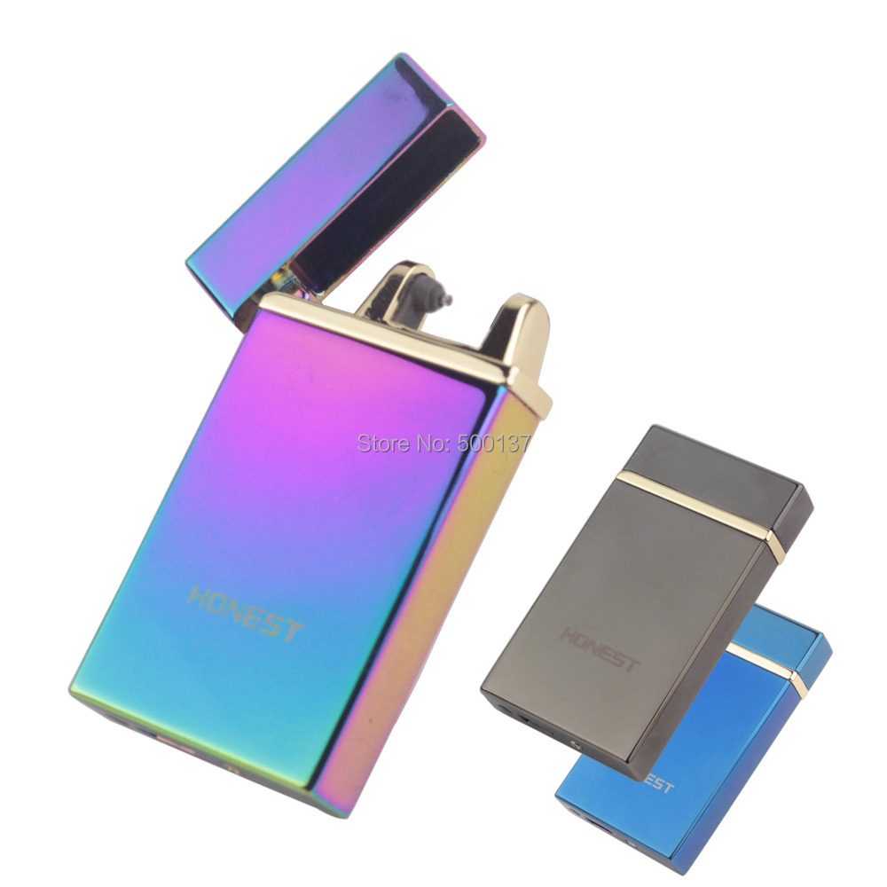 FIREDOG New Technology Shake Sway Electric Arc Lighter Ignition Rechargeable Cigarette Windproof Lighter