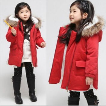Red coat for girl – Modern fashion jacket photo blog