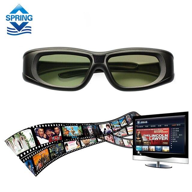 2016 Новый Gonbes N05-ИК 3D Очки с Активным Затвором Для Optomal Sharp LG Acer BenQ DLP-LINK Связь DLP Проекторы Gafas 3d