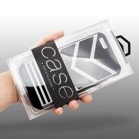 Dulcii 50 Adet/grup KJ-666 PVC Ambalaj ambalaj Kutu iPhone 6 6 s 7 Vb. kılıfları, İç Boyut: 143x79x15.5mm