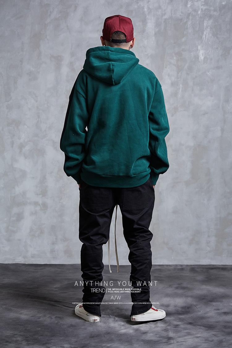 Aolamegs Hoodies Men Side Striped Hood High Street Pullover Cotton Fashion Hip Hop Streetwear Casual Big Pocket Hoodie Autumn (19)