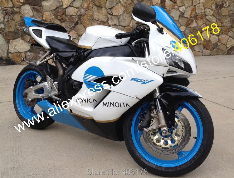 Hot Sales,For Honda CBR1000RR 04 05 CBR 1000 RR 1000RR CBR1000 RR 2004 2005 Konica Minolta ABS Fairing Kit (Injection molding)