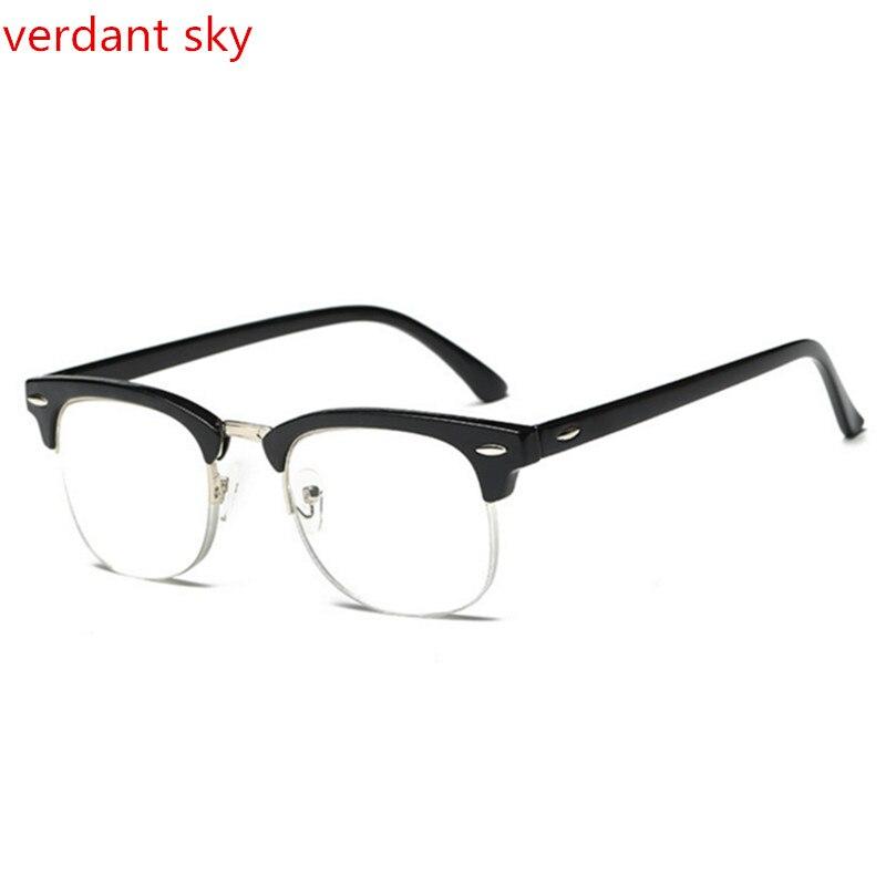 696d570fbf0 Brand Designer Reading Glasses Women PD58 Square Stainless Steel Old Man  Transparent Glasses Ochki Lentes De ...