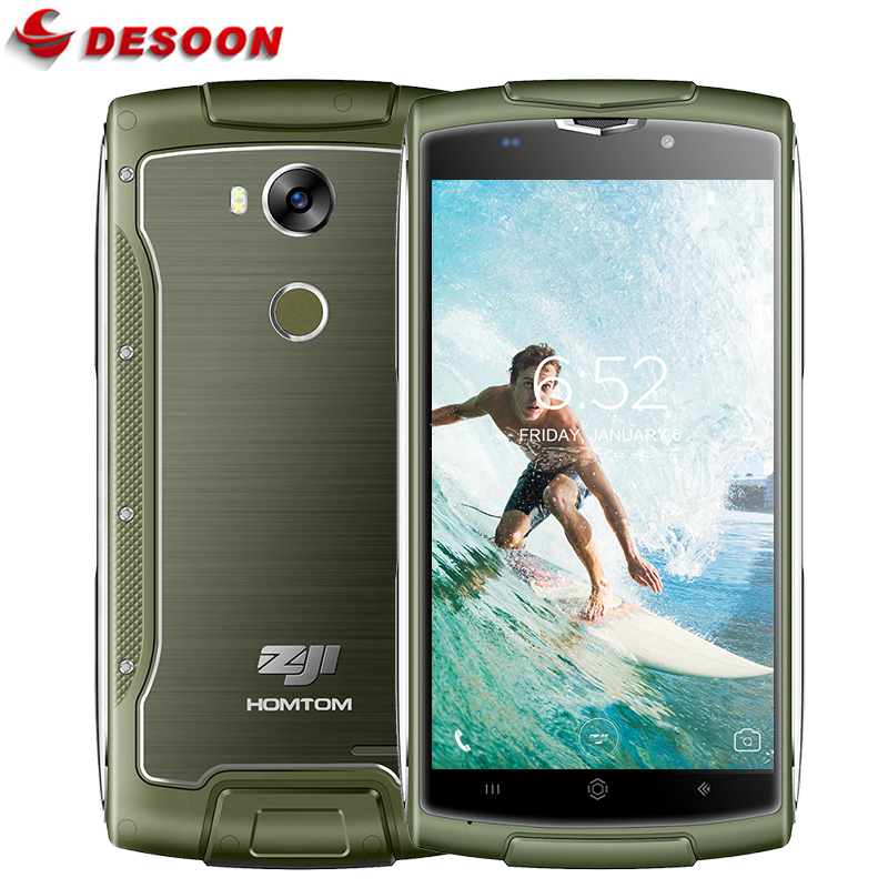 "Homtom zoji Z7 5.0 ""16 GB + 2 GB 4G FDD-LTE Dustproof Mobile Phone"