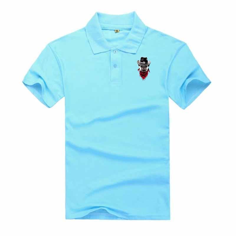 2019 Summer Men   Polo   Shirt Fit Casual   Polo   Clothing Short Sleeve Fashion   Polo   Shirt Summer M- 3XL Animal Print