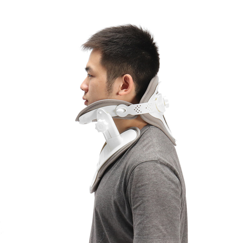 Hanging Neck Traction Device Household Stretched Cervical Traction Inflatable Spondylosis Orthopedic Neck Collar Stretch Machine hanriver cervical traction apparatus home stretch the neck fixed head neck collar correction neck inflatable lumbar spine