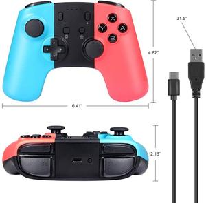 Image 5 - Wireless Game Controller for Nintendo Switch Console PC Android Bluetooth Rechargeable Gamepad Joystick Nintend Switch Pro