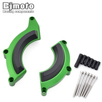 BJMOTO CNC Motorbike Accessories Motorcycle Engine Stator Cover Engine Protective Covers For Kawasaki Z900 2017