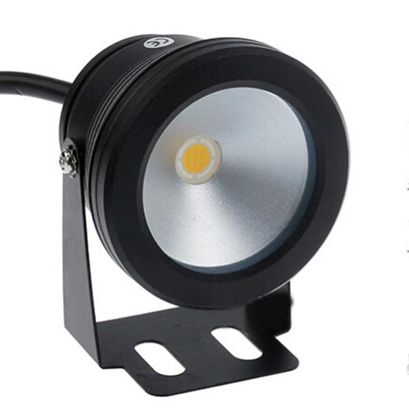LED Swimming Pool Light 10W Underwater Waterproof IP68 Landscape Lamp Warm/Cold White AC/DC 12V 900LM