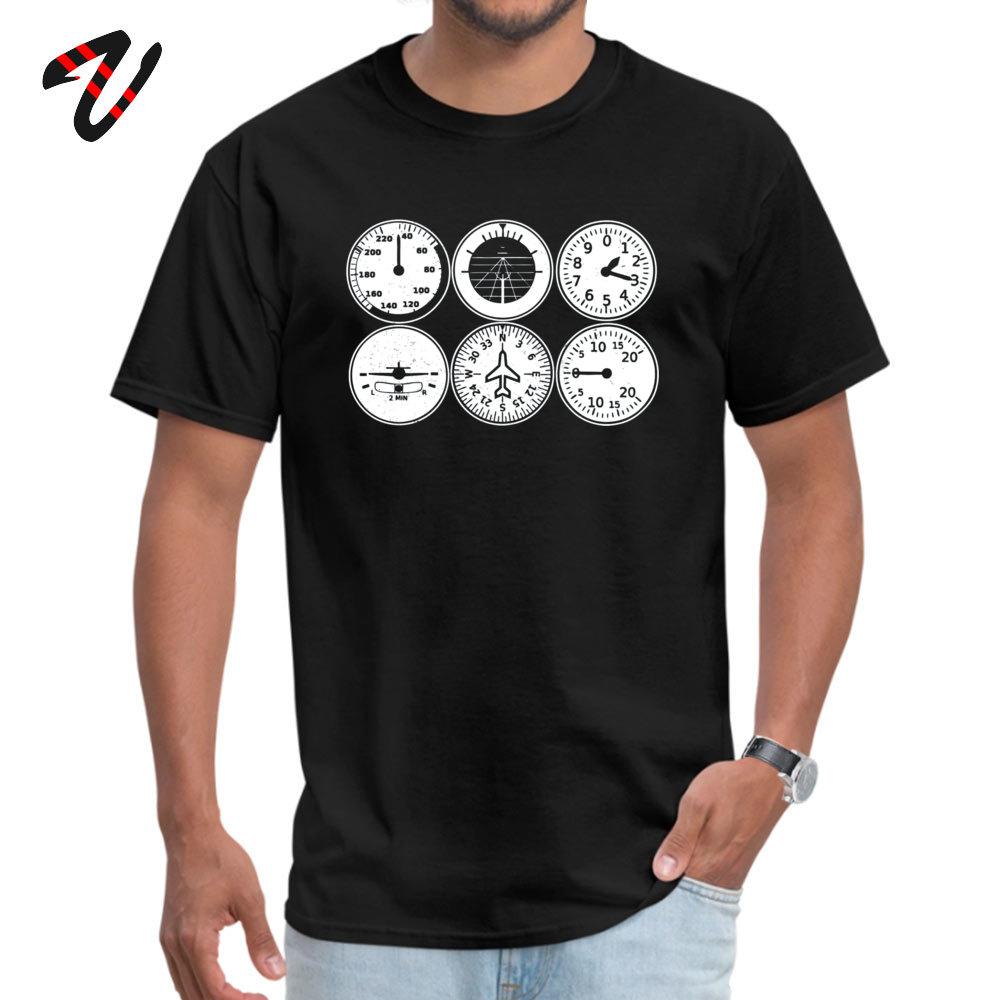 Young Tshirts Custom Funny Tops & Tees Cotton Fabric Crew Neck Short Sleeve Summer T Shirts Summer Top Quality Flight Simulator T shirt - pilot - aircraft -19549 black