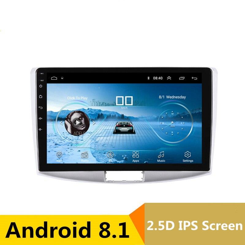 10.1 2.5D IPS Android 8.1 dvd de voiture lecteur vidéo GPS pour Volkswagen VW Passat B6 B7 CC Magotan 2011-2014 radio stéréo headunit