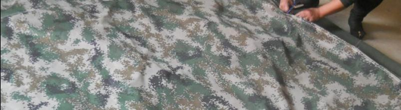Custom 400g sqr size 3mx 3m camouflage tarp military canvas outdoor waterproof camouflage cover cloth