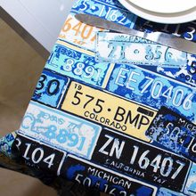 Table Cloth License plate number Cotton Linen house restaurant coffee shop home decoration Picnic mat table for friends gift(China)