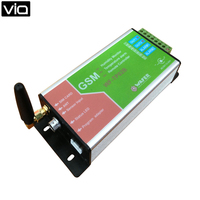 WF TP02B Free Shipping GSM Remote Control GSM Alarm controller Temperature Monitoring and Humidity Alarm Data Logger