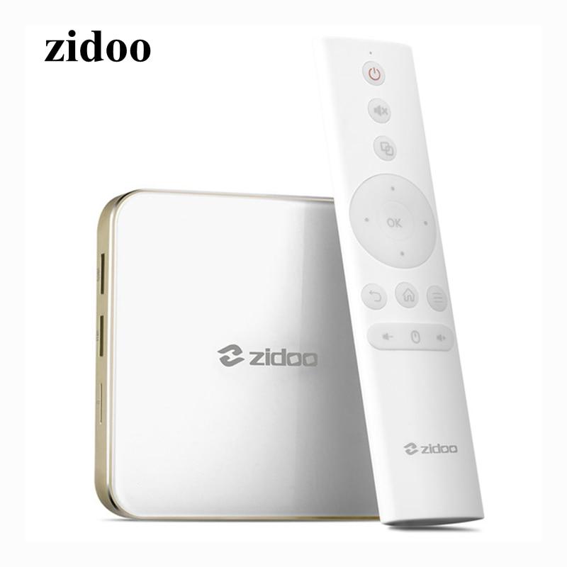 ZIDOO H6 PRO Smart Set Top Box 2GB RAM 16GB ROM Android 7.1 2.4G 5.0G WiFi 1000M Gigabit LAN Bluetooth 4.1 TV Box allwinner h6 android 7 0 zidoo h6 pro tv box ddr4 2gb emmc 16gb ac 4k 10bit hdr wifi 1000m lan dolby digital dts hd smartcolo