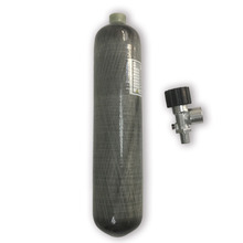 AC10210 ON Sale Mini 2L 4500psi 300bar Carbon Fiber/Paintball Cylinder/Tank with valve for Hunting PCP Cargador Airsofts Acecare