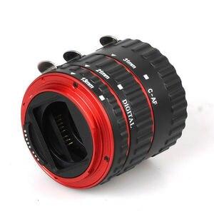Image 4 - במלאי מתכת Tube הארכת מאקרו AF פוקוס אוטומטי TTL טבעת עדשת מתאם טבעת עבור Canon EOS EF EF S כל עדשות