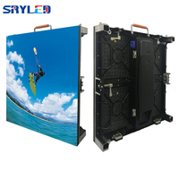 P4.81 Indoor Rental LED Display Advertising lED Panel Wall Screen For Church Background