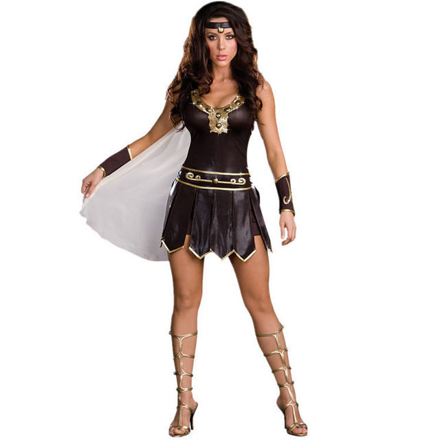 Halloween Ancient Greek mythology god of war warrior woman costumes temptation Female Soldiers Cosplay Costume Masquerade  sc 1 st  AliExpress.com & Halloween Ancient Greek mythology god of war warrior woman costumes ...