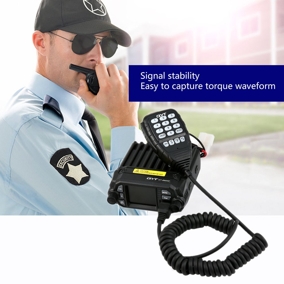 QYT KT-8900D Mobile Transceiver Dual Band QUAD Standby VHF/UHF 136-174/400-480MHz Mini Car Radio Amateur (HAM) Radio baofeng uvb2 plus vhf uhf dual band programmable walkie talkie two way radio fm transceiver handheld dual standby interphone with flashlight