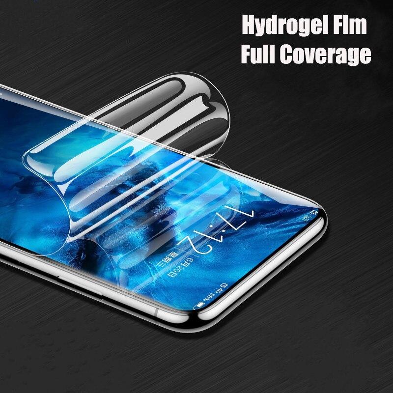 Film Hydrogel protecteur d'écran pour Samsung Galaxy S10 S9 S8 S7 S6 Edge Plus complet pour Samsung Note 8 9 Film protecteur pas verre