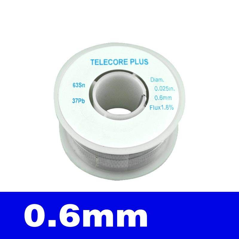 100G 0.6mm Tin Solid Solder Wire Reel Spool for Circuit Board ...
