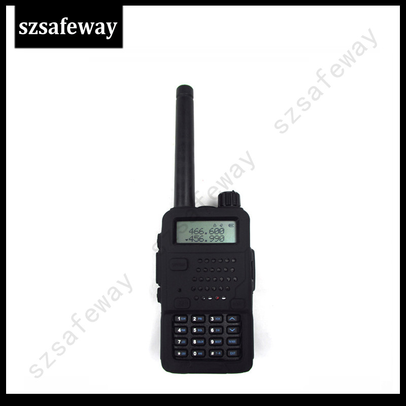 2PCS/Two Way Radio Rubber Leather Case Silicone Rubber Cover Walkie Talkie Bag For BAOFENG UV-5R UV-5RE Plus UV-5RB/C