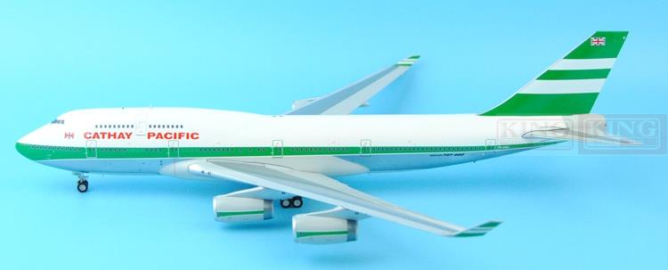 Offer: Wings XX2921P Special JC Hongkong Cathay Pacific VR-HOO 1:200 B747-400 commercial jetliners plane model hobby new brand colors purse plaid leather zipper wallet cards holder wallet for girls women wallet