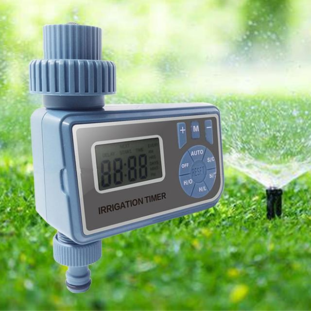 Irrigation controller system garden watering timer automatic electronic intelligent digital water timer home