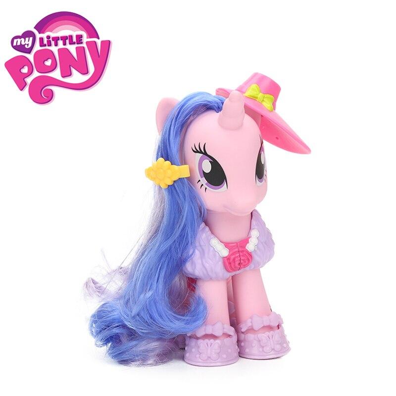 Explore Equestria My Little Pony Toys 6inch Fashion Style Set Photo Finish Royal Ribbon Glimmer Pony with Shoes Accessries Dolls my little pony equestria girls b1769 вондерколт эппл джек