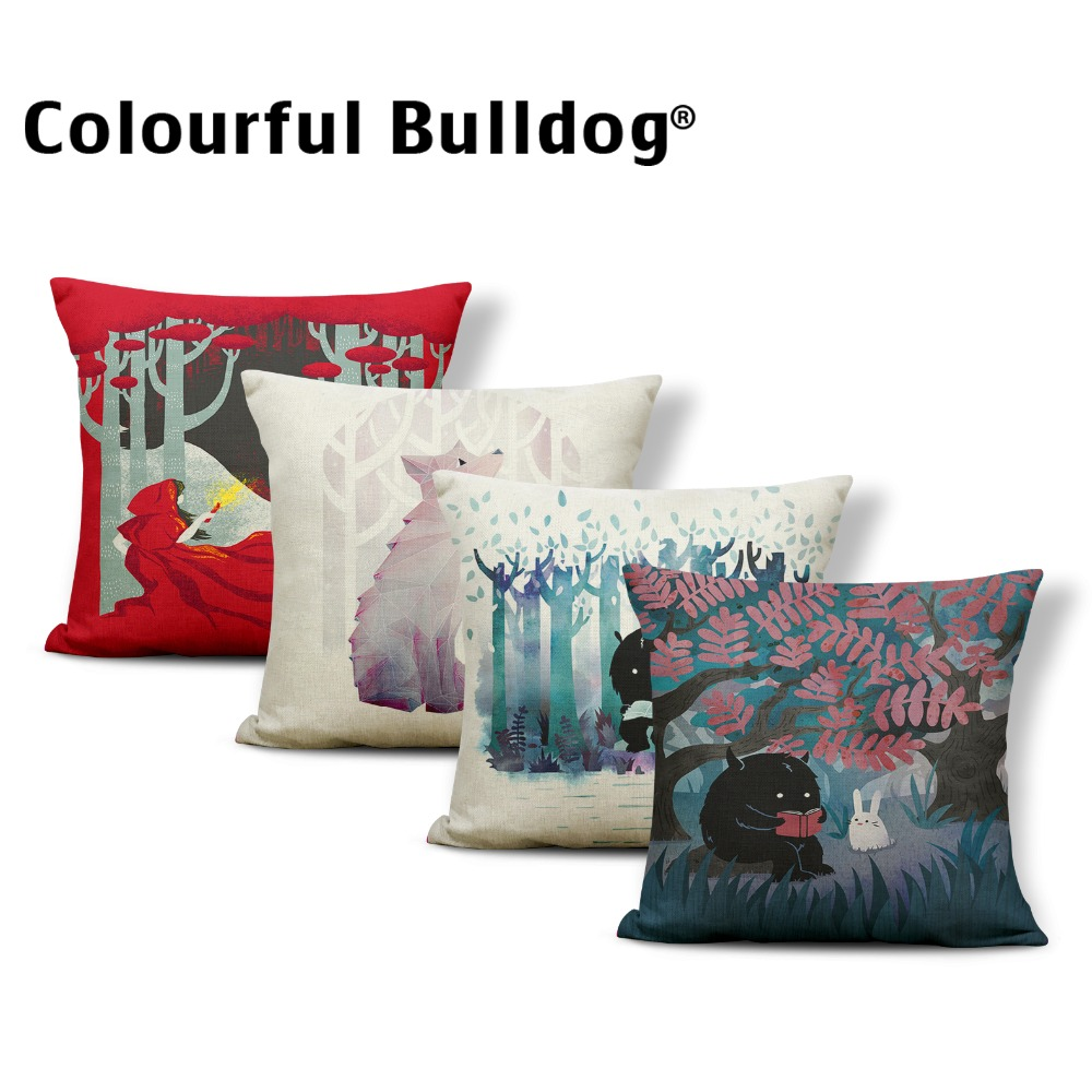 Realistic Nordic Hand Drawing Butterfly Art Home Decorative Sofa Throw Pillow Cushion Cover Cotton Linen Fashion Ladys Chair Pillow Cover Home Textile