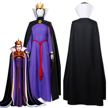1937 Movie The Snow White Evil Queen Cosplay Costume Outfit