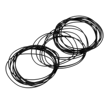 40 Pieces 0.6mm Rubber Watch Gasket Kit Washers O-Ring Back Case Seals 30mm цена и фото