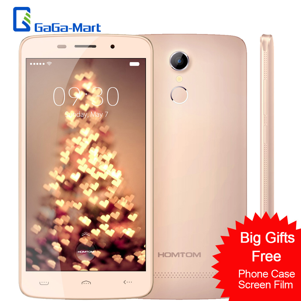 "Цена за HOMTOM HT17 Pro Смартфон 4 Г LTE Android 6.0 MTK6737 Quad Core Мобильного Телефона 2 ГБ + 16 ГБ 5MP 13MP отпечатков пальцев 5.5 ""HD Мобильный Телефон"