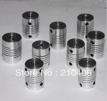 Aluminum flexible coupling flexible coupling Encoder Motor Coupling D18 * L25
