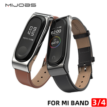 цена на Watch band for Xiaomi Mi Band 3 Sport Strap watch Leather wrist strap For xiaomi mi band 3 accessories bracelet Miband 3 Strap
