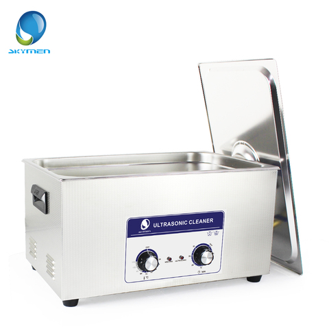 Skymen Mechanical Ultrasonic Cleaner Bath 22L 480W watch cleaning machine ultrasonic cleaner parts stainless steel washer Multan