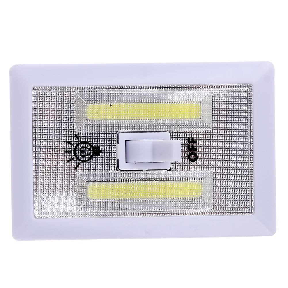 Magnetic Mini COB LED Cordless Lamp Switch Wall Night