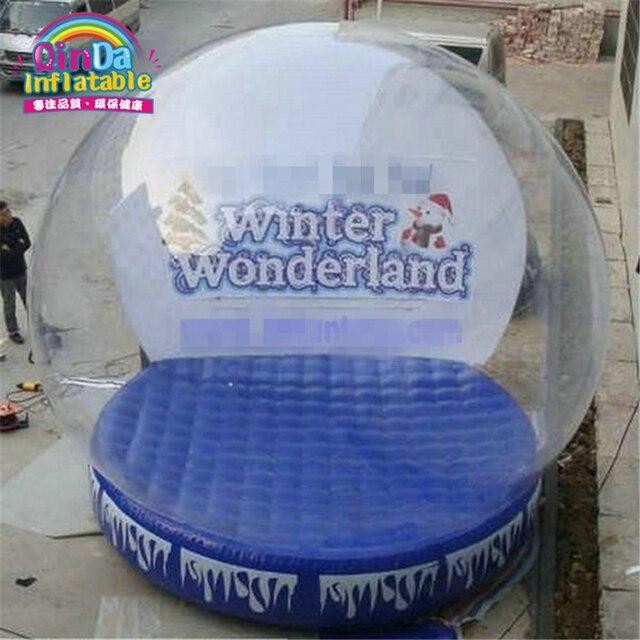 Сделано в Китае хорошее качество рождество надувные картинку вставить снежный шар