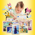 Princess Sophia Wooden Puzzle Educational Wooden Jigsaw Puzzle Toys Disney Gift For Kids Montessori Brain Games CF1144H