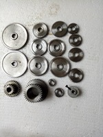 17pcs/set 1.5m and 1m mini lathe Metal Cutting Machine gears/Professional gear is not the same! Quality first! price first!