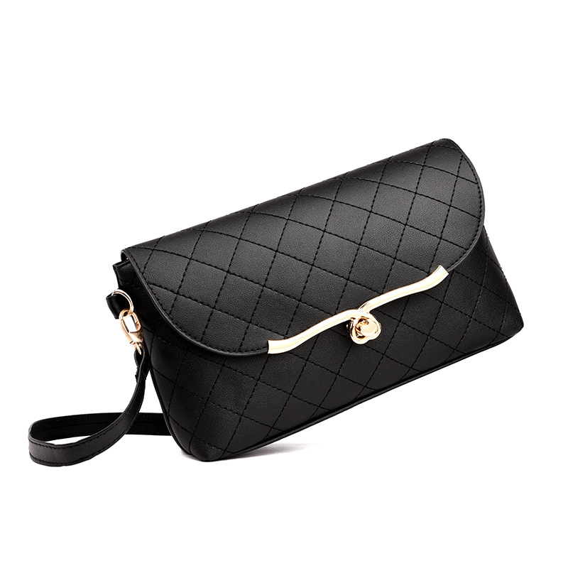 2019 explosion models peach heart single shoulder hot sale Lingge embroidery line latest exquisite fashion Messenger bag in Top Handle Bags from Luggage Bags